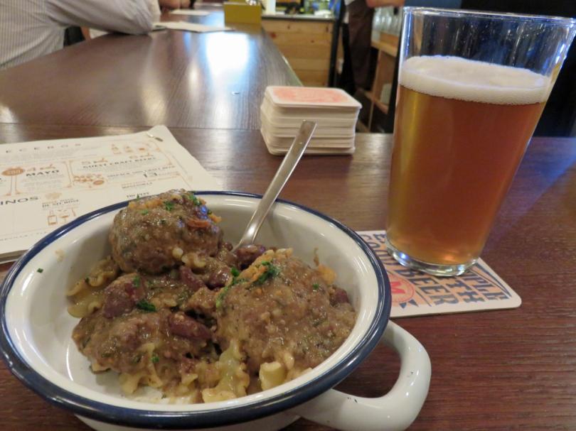 meatballs-beer