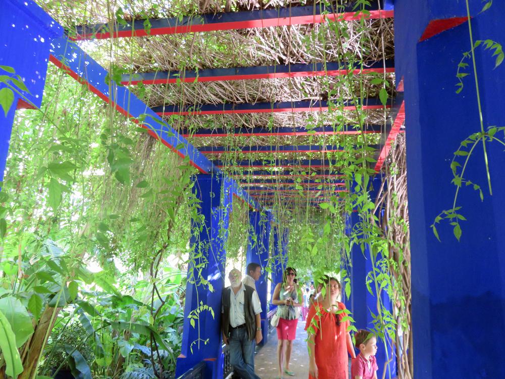 Jardin majorelle in marrakesh works as a memorial to yves for Jardin majorelle